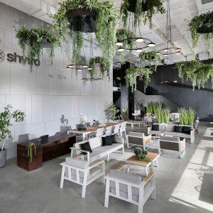 תמונה של עיצוב בצמחייה מלאכותית של חברת קרת